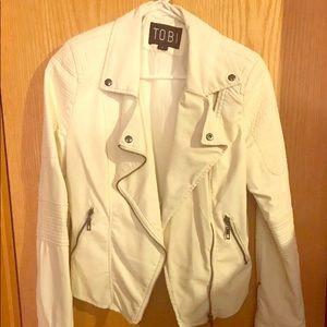 Never Worn Tobi Faux Leather Moto Jacket Women's L